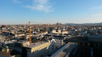 The view of Vienna from the location of the conference, the TutheSky room at the TU Vienna.